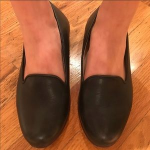 Nisolo Black Leather Loafers